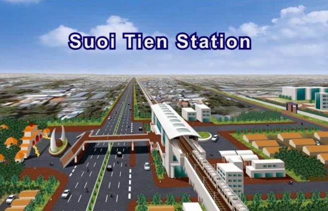 Thông tin tuyến tàu điện ngầm số 1 Bến Thành – Suối Tiên
