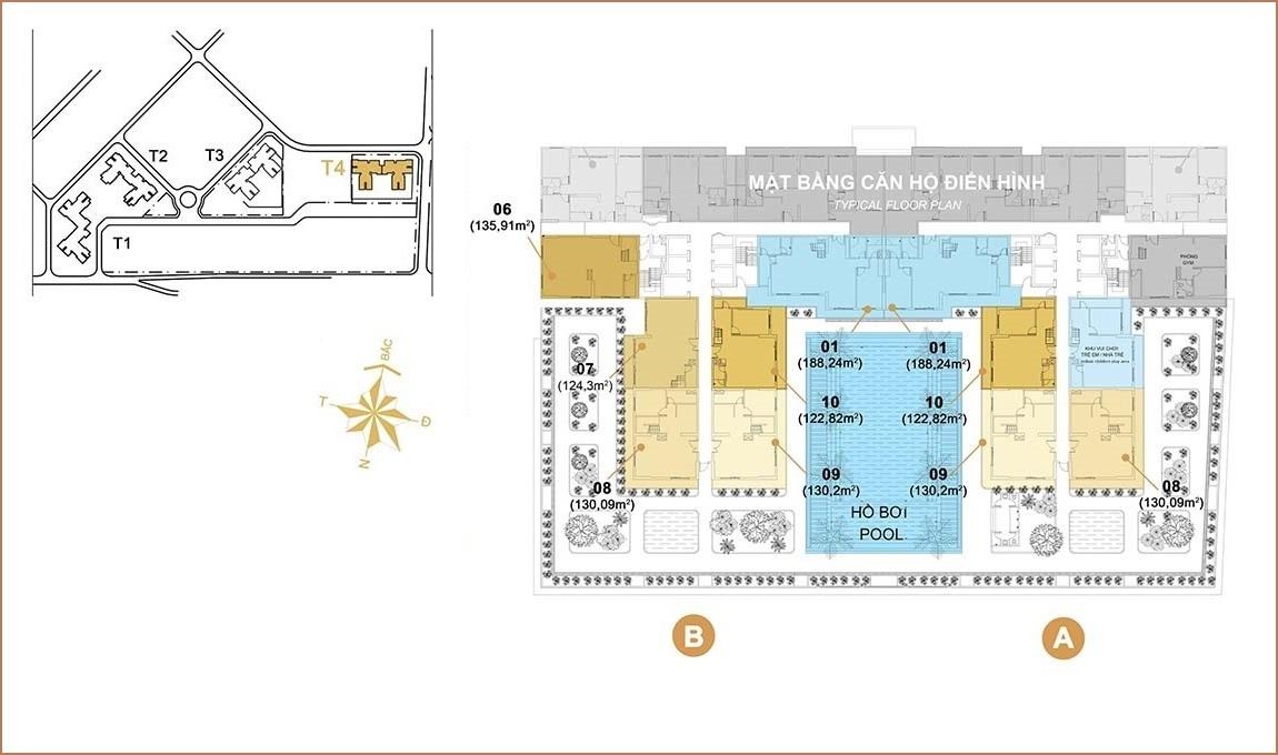 Duplex dự án Masteri Thảo Điền