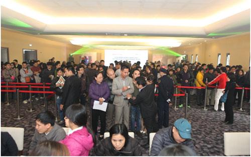 300 khách mua căn hộ The One Residence trong ngày mở bán 1